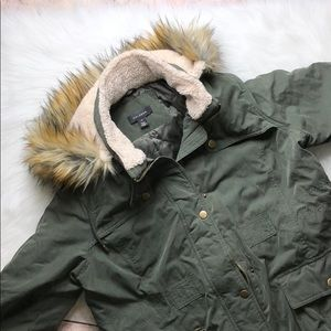 HALOGEN UTILITY TRENCH COAT PUFFER SIZE XL